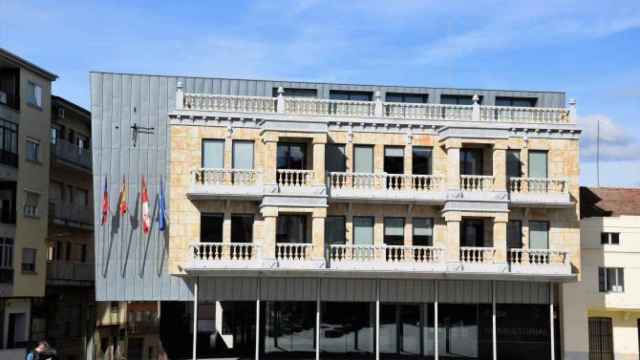 Fachada del Ayuntamiento de Guijuelo