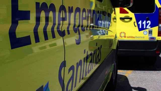 Herida una mujer de 54 años tras un accidente de tráfico en Valladolid