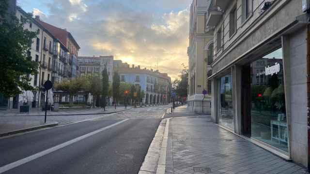 Zona centro de Valladolid