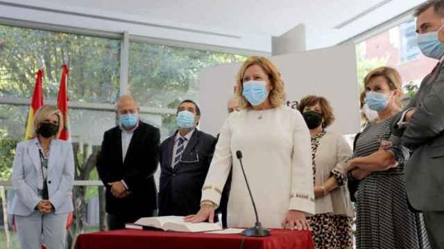 Acto de Gloria Sánchez Antolín como directora general de Planificación y Asistencia Sanitaria