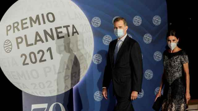 Letizia y Felipe VI en la entrega de los Premios Planeta.