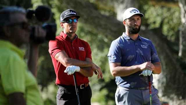 Jon Rahm durante el Masters de Golf de Andalucía