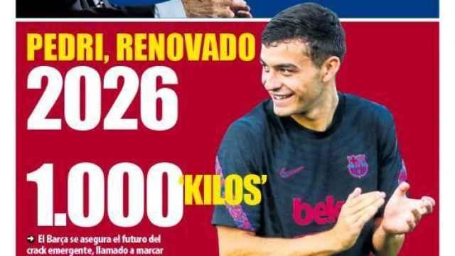 Portada Mundo Deportivo (15/10/21)