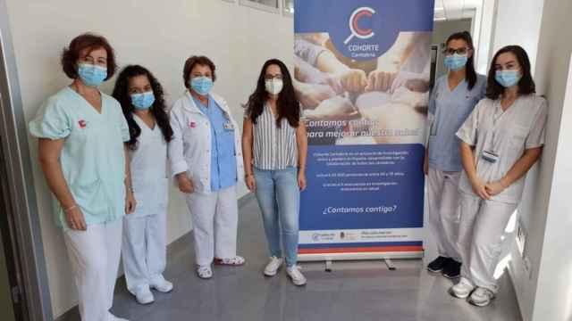 Equipo que lidera el proyecto de investigación 'Cohorte Cantabria'.