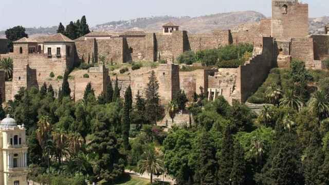 La Alcazaba de Málaga, en una imagen.