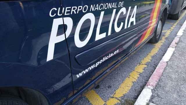 Coche del Cuerpo Nacional de Policía.
