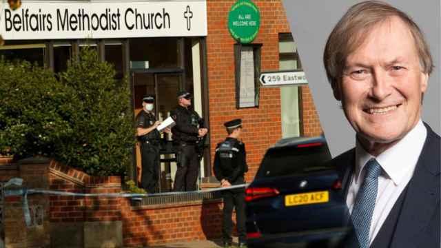 Matan a puñaladas al diputado británico David Amess durante un acto en una iglesia de Essex