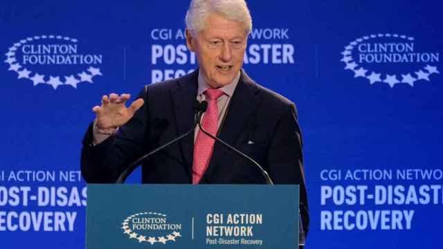 El expresidente de EEUU, Bill Clinton. Reuters