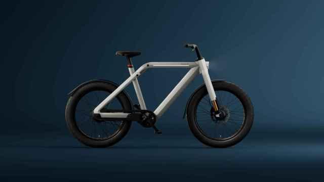 Así es la bicileta eléctrica de VanMoof.