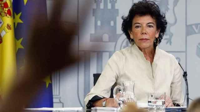 La exministra de Educación Isabel Celaá.