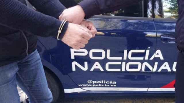 Imagen de archivo de una detención por la Policía Nacional