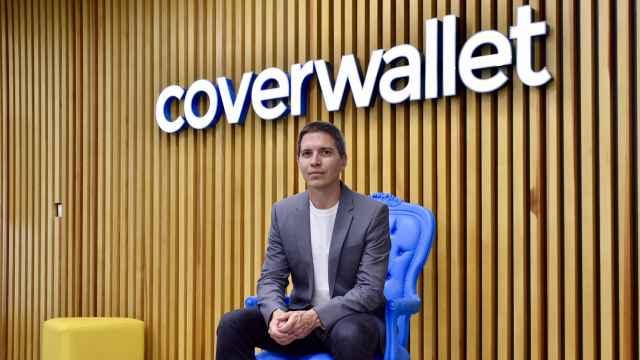 Iñaki Berenguer en las oficinas de su último proyecto, Coverwallet, del que dejó de ser CEO en junio.