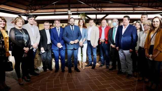 Paco Núñez ha visitado este sábado Moral de Calatrava (Ciudad Real).