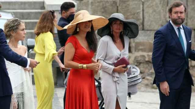 FOTOGALERÍA. La boda de Ortega Smith y Paulina Sánchez en Toledo en imágenes