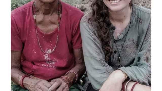 Los 865 kilómetros de una palentina por los Pirineos en favor de Nepal