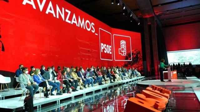 Imagen del 40 Congreso del PSOE que se celebra en Valencia