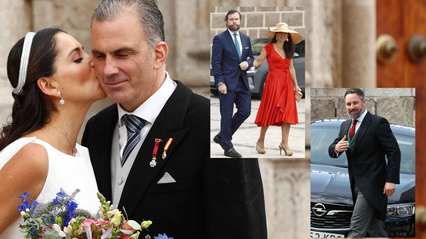 : todos los invitados a la boda de Ortega Smith y Paulina Sánchez del Río