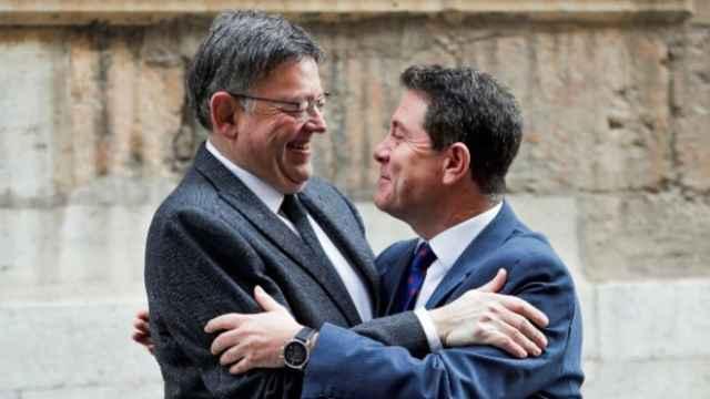 Ximo Puig y Emiliano García Page. EFE