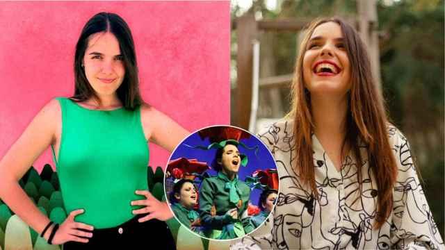 Ángela González, cantautora malagueña.