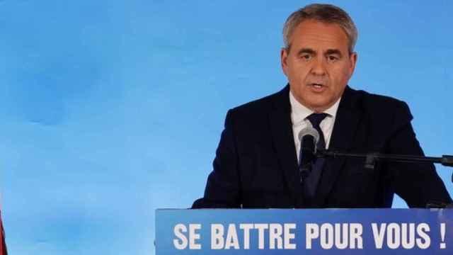 Xavier Bertrand, el posible candidato de Los Republicanos.