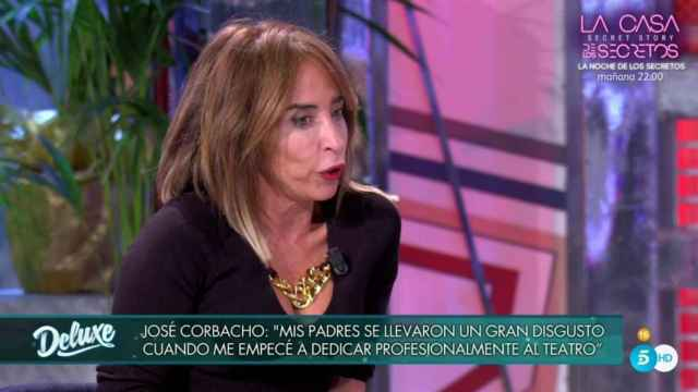 María Patiño cuenta cómo fue su incómodo encuentro con Andreu Buenafuente: Lo pasé muy mal
