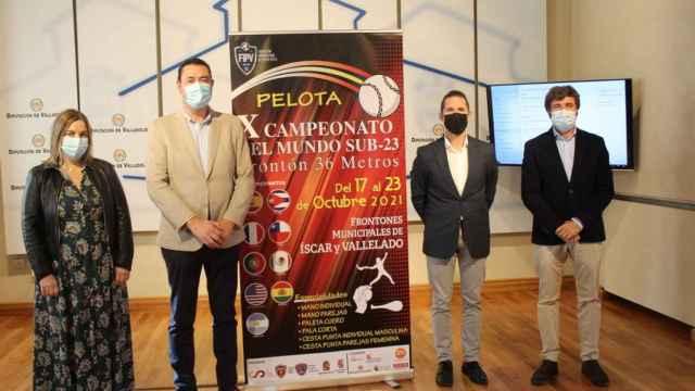 Valladolid y Segovia, epicentro internacional de la pelota en frontón
