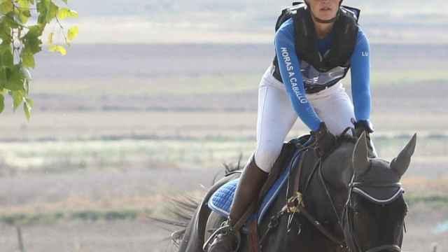 Lucie Duc, se impone en Ávila en el Campeonato de Castilla y León de Concurso Completo