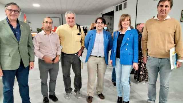 Participantes en el encuentro celebrado en Espeja
