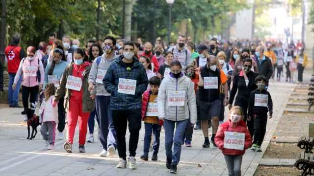 Valladolid celebra el día del deporte en familia