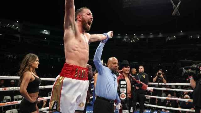 Sandor Martin celebra su victoria