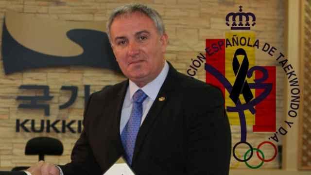 Jesús Castellanos, presidente de la Federación Española de Taekwondo