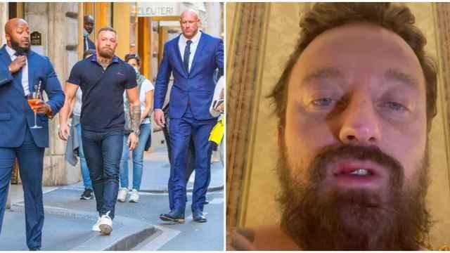 McGregor viaja a Roma para bautizar a su hijo en el Vaticano y termina provocando una gran pelea