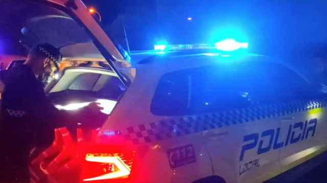 Persecución policial Casabermeja