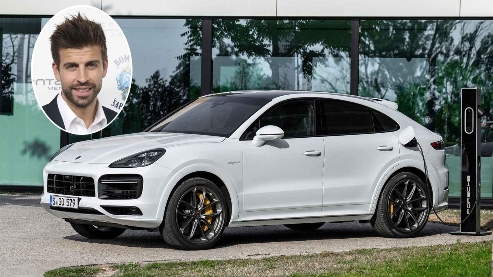 El nuevo coche de Gerard Piqué, un Porsche de 100.000 € y 462 CV; repasamos sus últimos vehículos
