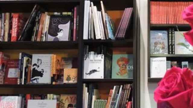 Libreria feminista Mujeres & Compañía, en Madrid.