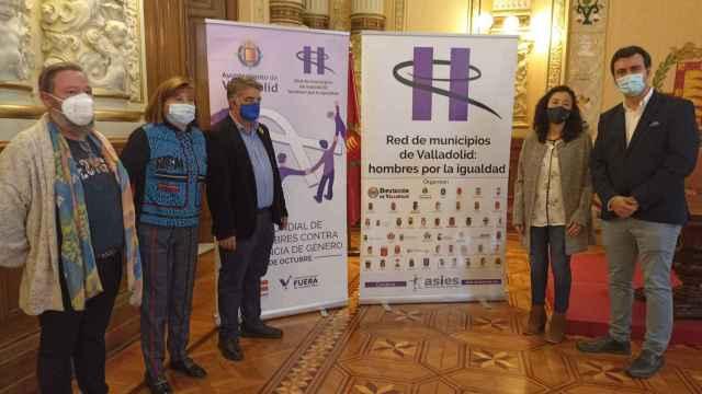 Presentación de los actos con motivo del Día Mundial de los Hombres contra la Violencia de Género