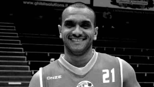 Haitem Jabeur Fathallah con la camiseta del Fortitudo Messina
