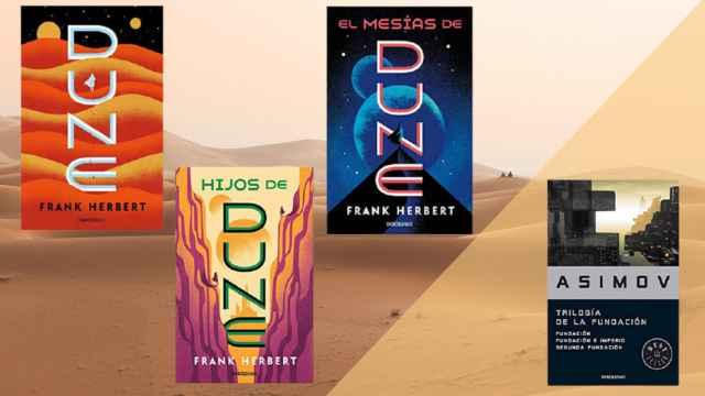Estos son los libros de las mejores series y películas del momento: Dune y Fundación