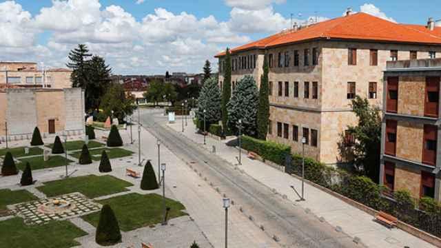 Edificios académicos de la Universidad de Salamanca