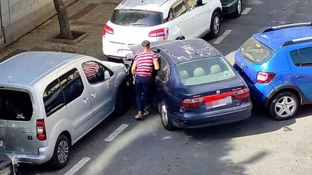 Detenido en Málaga tras dañar nueve vehículos con un coche sustraído y sin carné