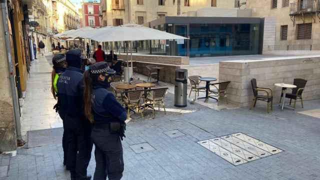 Zona de El Barrio en el casco histórico de Alicante, que ya es peatonal.