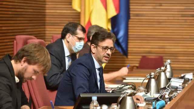 José Juan Zaplana (PP), en las Cortes Valencianas.