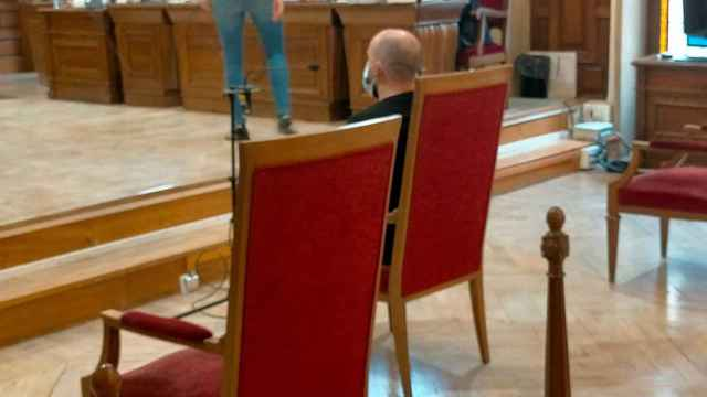 El conductor del turismo, durante el juicio que se celebra en la Audiencia Provincial