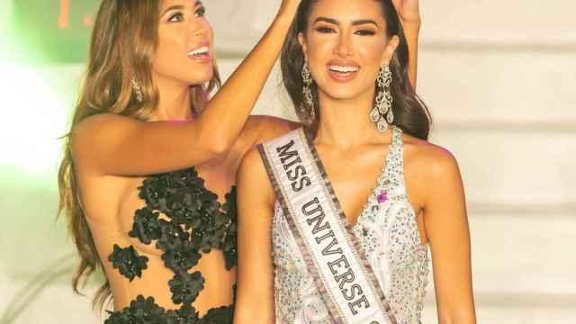 Sarah Loinaz, en el momento de su coronación