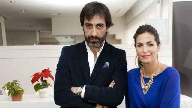 Juan del Val y Nuria Roca en una imagen de archivo.