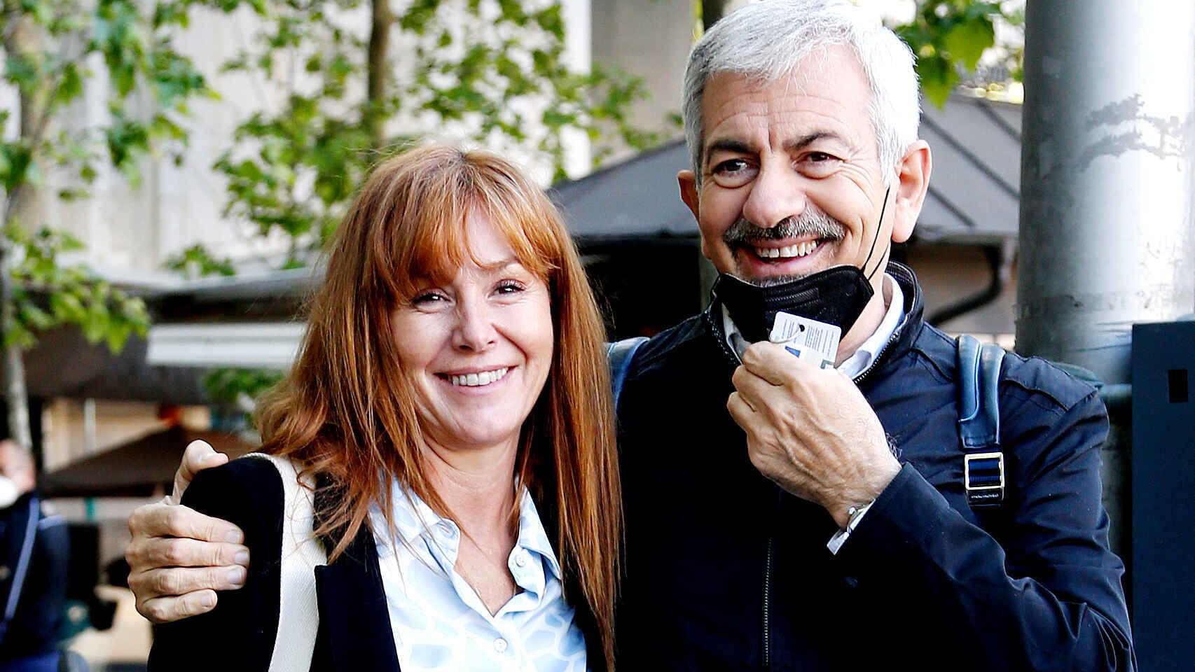 Patricia Santamarina y Carlos Sobera, en una imagen de archivo.