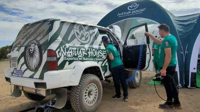 El león de El Español se va al Rally Dakar: así es el Naturhouse Raid Team que viajará a Arabia Saudí