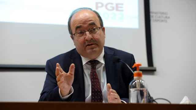 Miquel Iceta, ministro de Cultura y Deporte de España