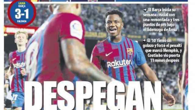 La portada del diario Mundo Deportivo (18/10/2021)