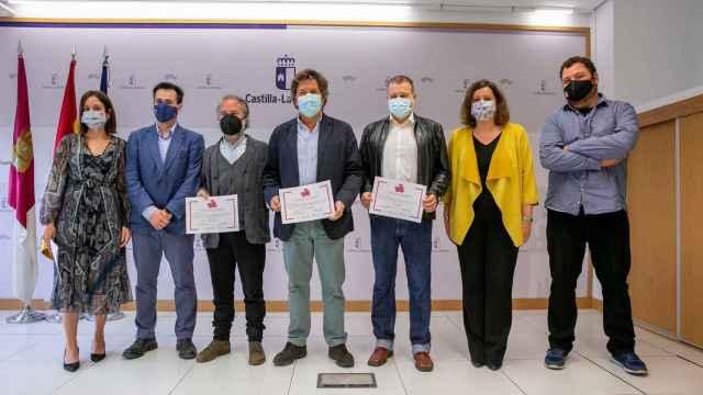 Entrega de premios del primer certamen de Castilla-La Mancha Film Comission